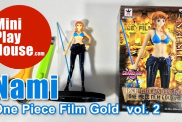 Nami, One Piece Film Gold Volume 2, Figure Unboxing