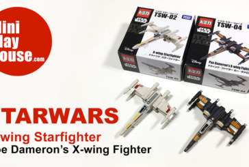 Takara Tomy Star Wars X-wing fighter, Poe Dameron's X-wing Fighter Toy – unboxing