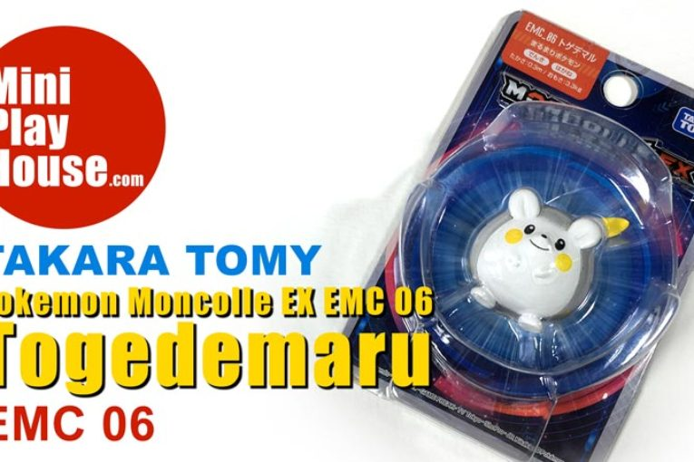 Takara Tomy Pokemon Moncolle EX EMC 06 Togedemaru – unboxing