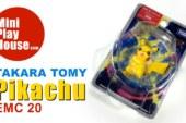 Takara Tomy Pokemon Monster figure Pikachu Toy EMC 20 – unboxing