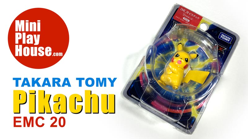 Takara Tomy Pokemon Monster figure Pikachu Toy EMC 20 – unboxing