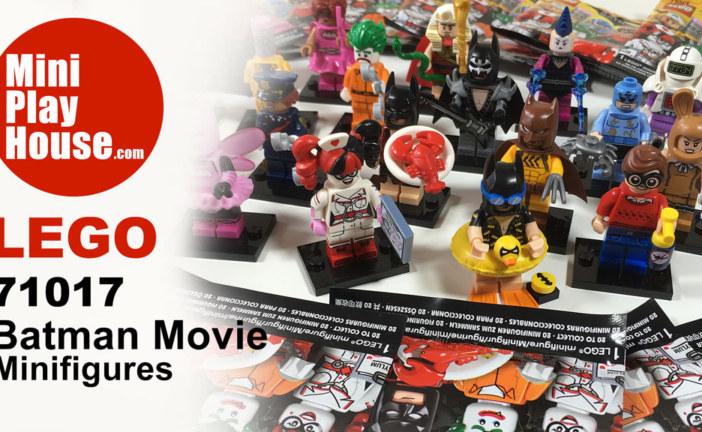 Unboxing – Lego Batman Movie Minifigures 2017, #71017 Fullset