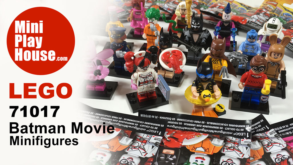 Unboxing – Lego Batman Movie Minifigures 2017, #71017 Fullset