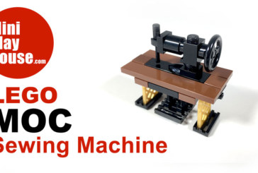 MOC LEGO – Sewing Machine (Unbox & Speedbuild)