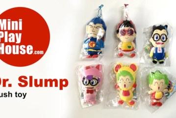 Dr. Slump plush toys – unpacking
