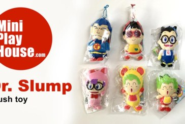 Dr. Slump plush toys – unpacking